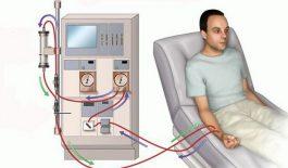 Bệnh nhân chạy thận nhân tạo