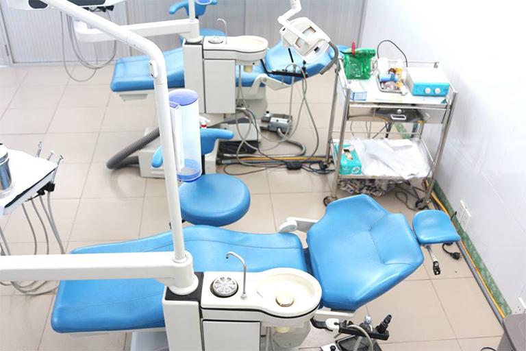 Cơ sở chật chất tại Phòng khám Đa khoa Hoàn Hảo I