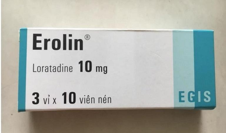 Thuốc Erolin dạng viên nén