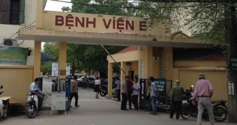 Bệnh viện E là một trong những bệnh viện khám chữa bệnh xương khớp uy tín ở Hà Nội.