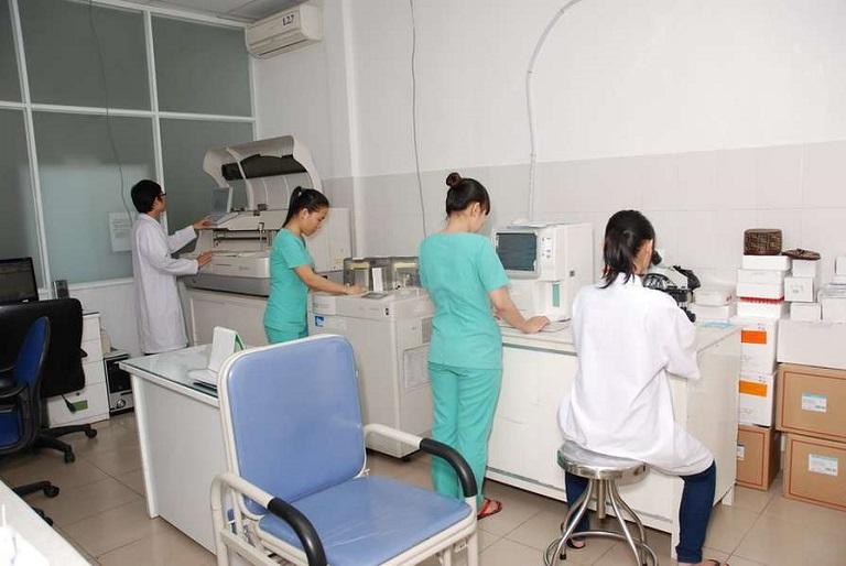 Khoa xét nghiệm Bệnh viện Ngọc Tâm