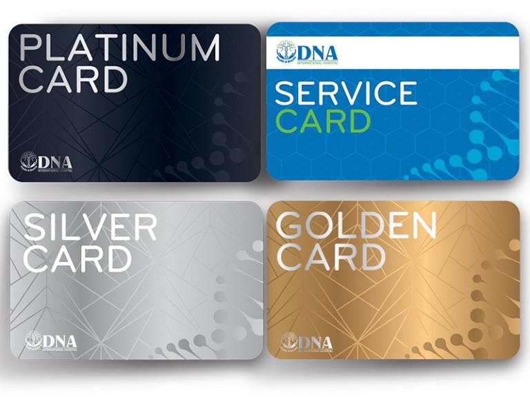 Thẻ thành viên tại DNA