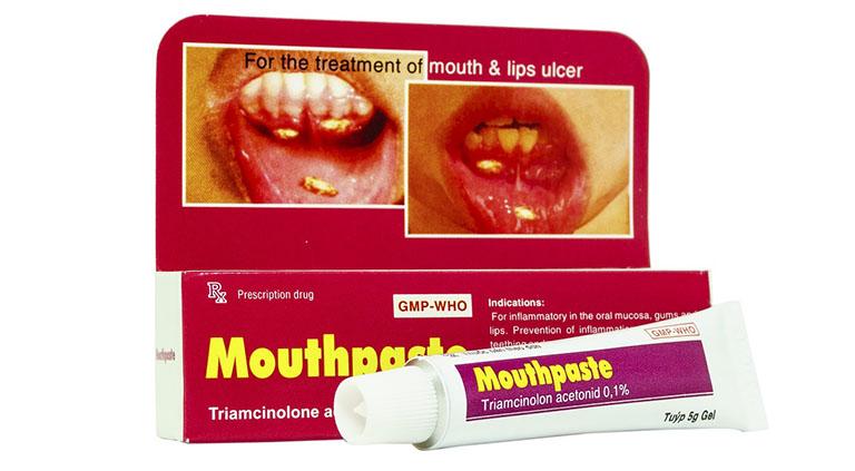 mouthpaste trị gì