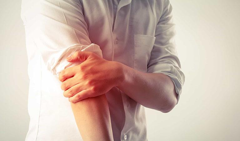bài tập đau khuỷu tay