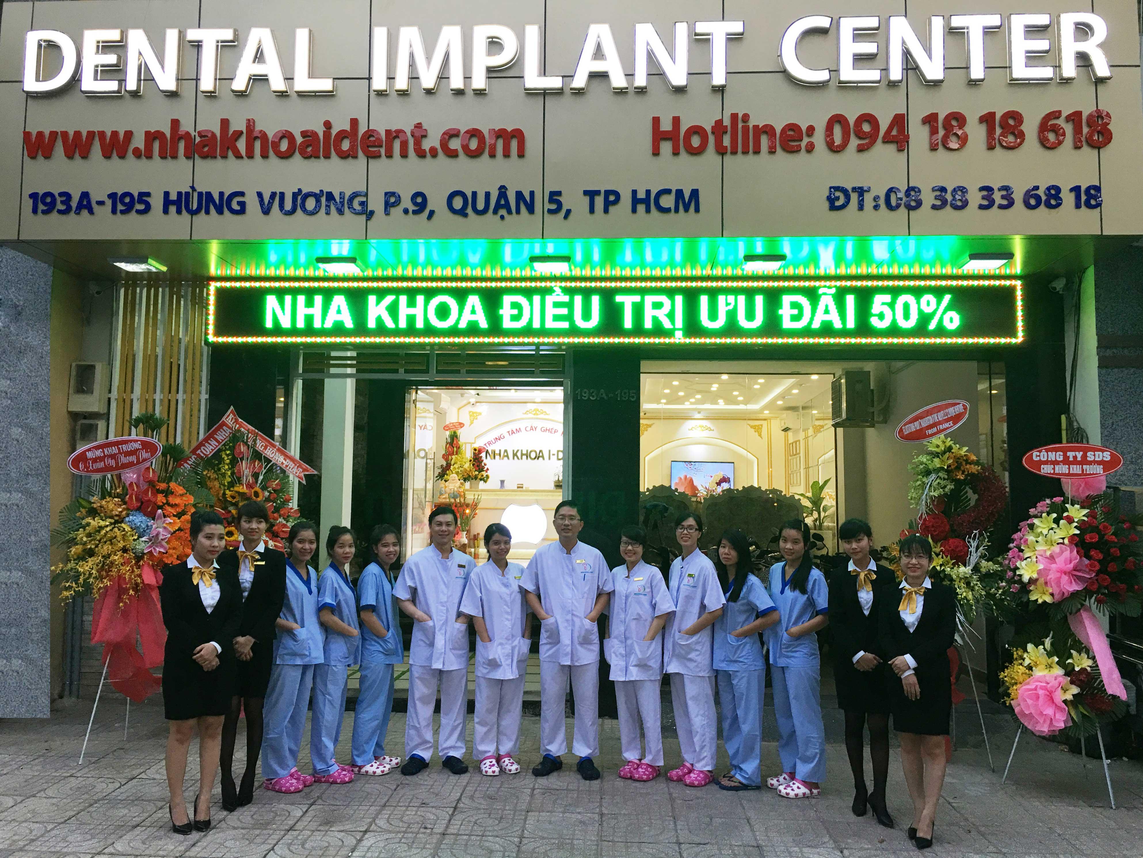 trung tâm Cấy ghép Implant - Nha khoa I-DENT