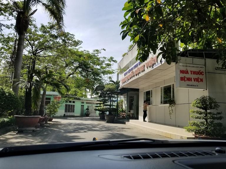 Cơ sở vật chất bệnh viện Đa khoa Bưu Điện - cơ sở 1