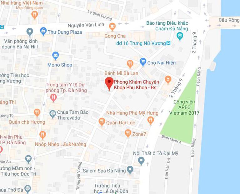 tìm hiểu về phòng khám Phụ khoa do bác sĩ Nguyễn Thị Ngọc Anh phụ trách