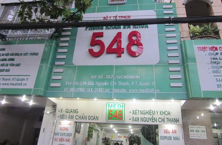 Phòng khám Đa khoa 548