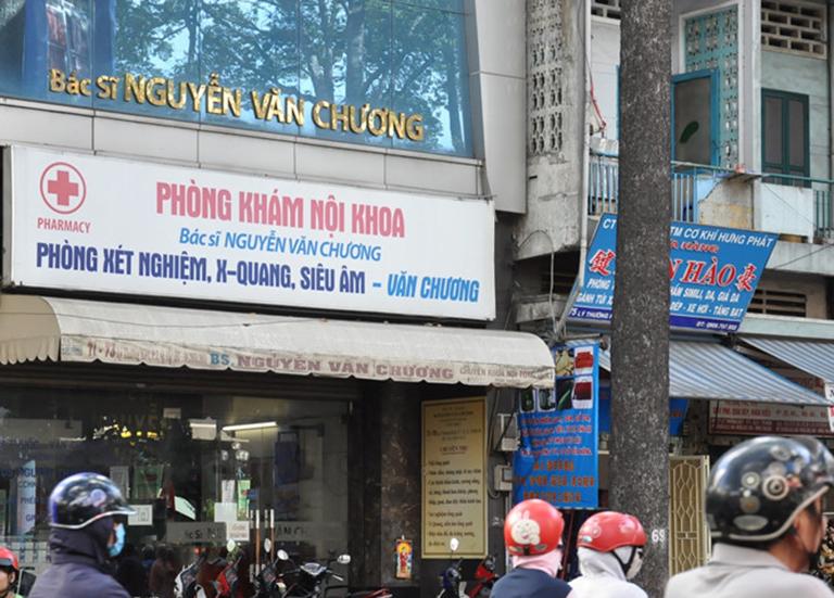 Phòng khám Nội - Bác sĩ Nguyễn Văn Chương