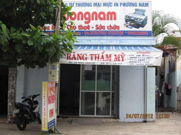 Phòng khám Răng - bác sĩ Nguyễn Vinh
