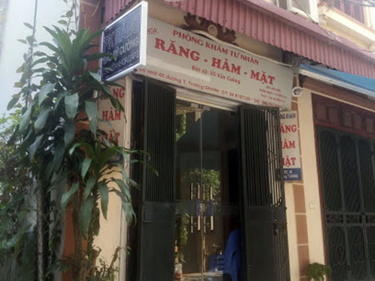 Phòng khám Răng Hàm Mặt - Bác sĩ Vũ Văn Quang