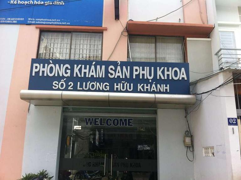 Phòng khám Sản phụ khoa Số 2 Lương Hữu Khánh