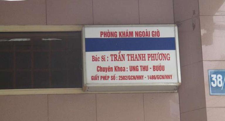 Phòng khám Ung Bướu - Bác sĩ Trần Thanh Phương