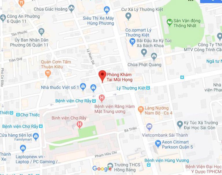thông tin cần biết về phòng khám của bác sĩTrần Minh Trường