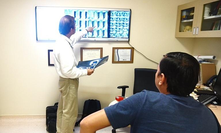 Chẩn đoán thoát vị đĩa đệm là một bước quan trọng giúp xây dựng kế hoạch điều trị chính xác cho bệnh nhân