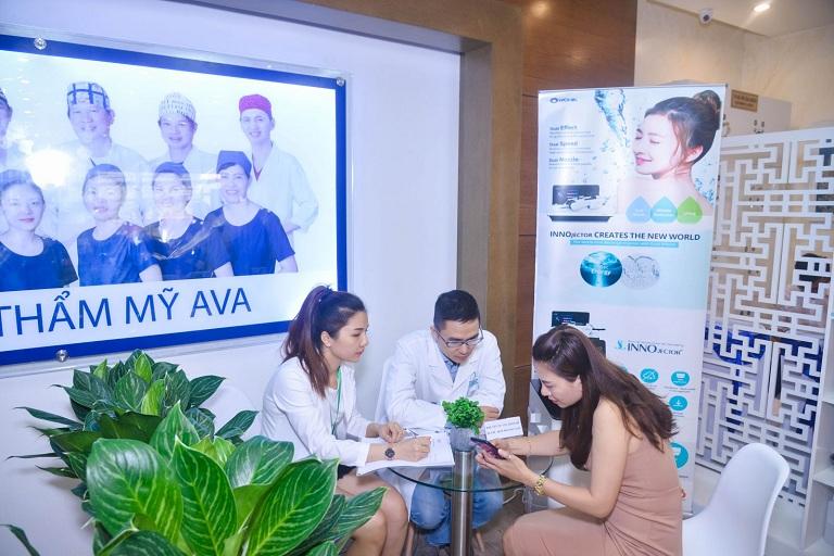 Quy trình làm việc tại bệnh viện thẩm mỹ Ava