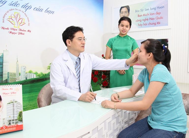 Quy trình làm việc tại bệnh viện thẩm mỹ Ngọc Phú
