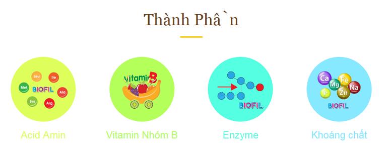 Các thành phần chính của Biofil