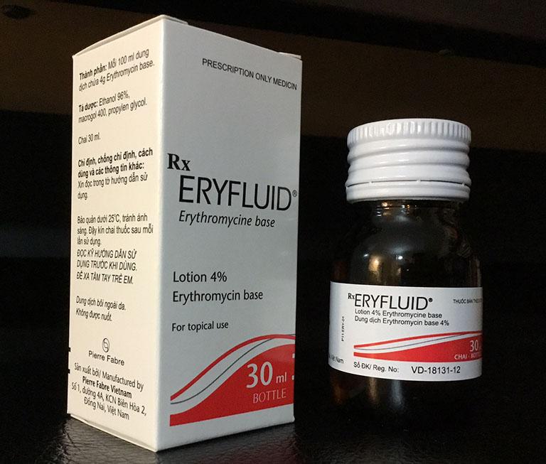 Eryfluid là thuốc gì? Dùng có tốt không?
