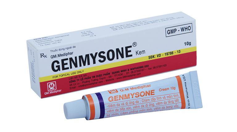Tìm hiểu các thông tin về thuốc Genmysone