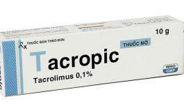 Tacropic là thuốc gì? Giá bao nhiêu?
