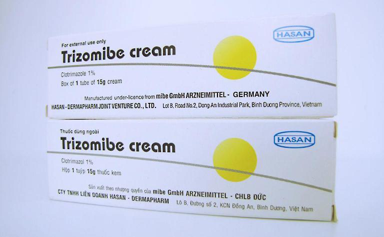 Thuốc Trizomibe cream điều trị các bệnh da liễu do nhiễm nấm