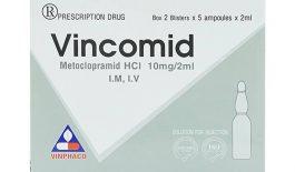 Thuốc Vincomid được sử dụng để điều trị các bệnh lý về đường tiêu hóa