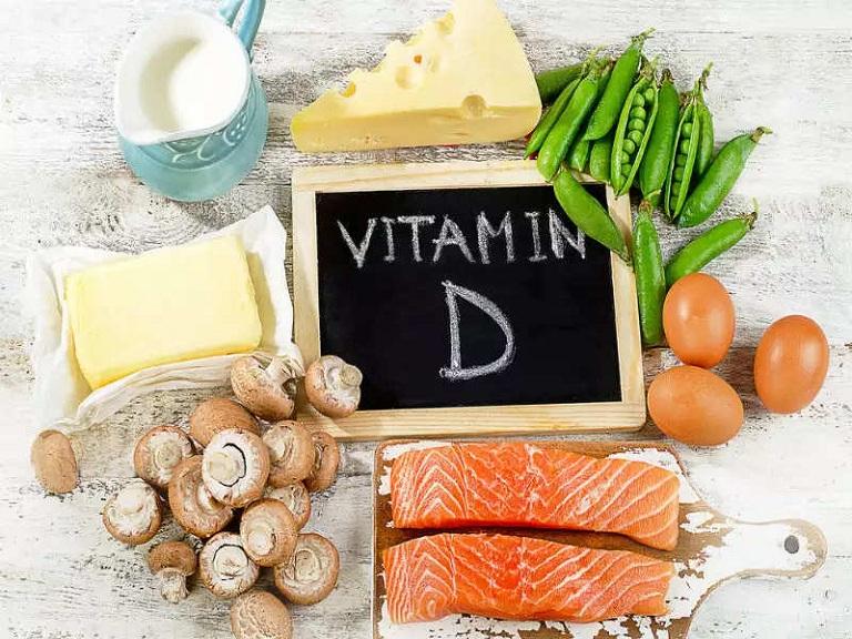 Thực phẩm giàu vitamin D giúp phòng chống loãng xương
