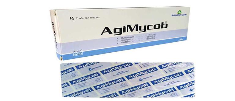 thuốc đặt agimycob 500 mg