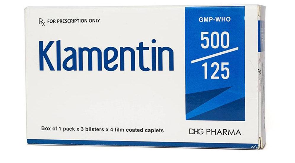 Thuốc Klamentin