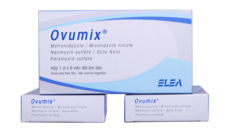 Thuốc đặt phụ khoa ovumix