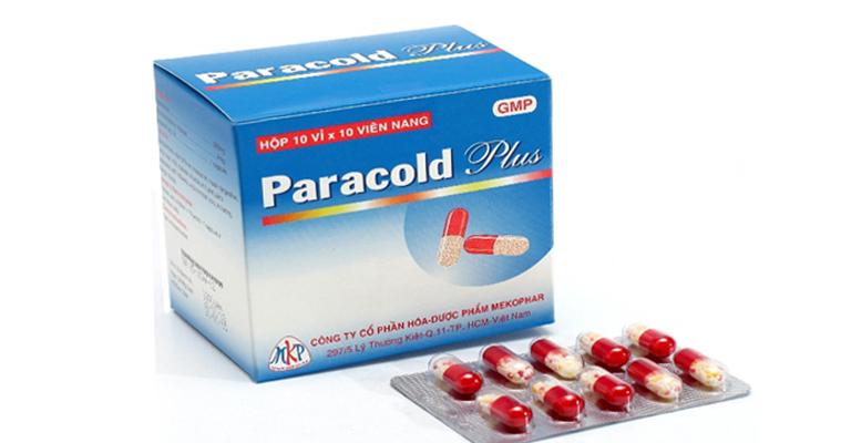 thuốc Paracold Plus có tác dụng gì