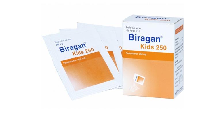 thuốc Biragan cho trẻ em