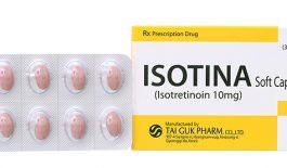 Thuốc trị mụn Isotina 10mg