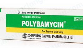 Thuốc Polybamycin dnagj tuýp 10mg