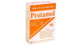 Thành phần chính có trong thuốc Protamol là Ibuprofen và Paracetamol