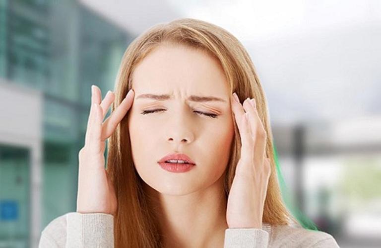 Đau đầu là tác dụng phụ của thuốc spasmaverine 40mg