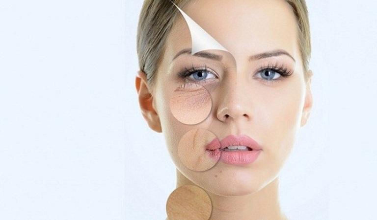 Lão hóa da là một tác hại của việc ăn nhiều đường