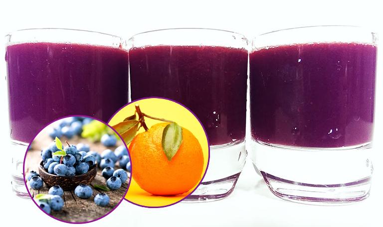 Nước ép cam việt quất cải thiện bệnh viêm đường tiết niệu