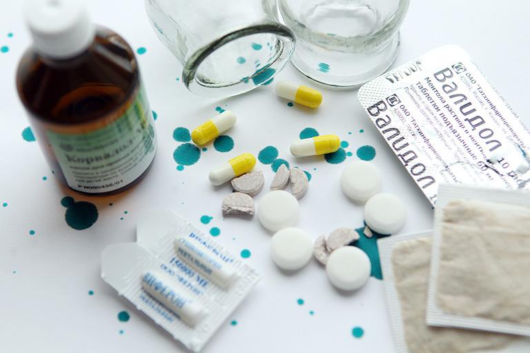tương tác thuốc Vigentin