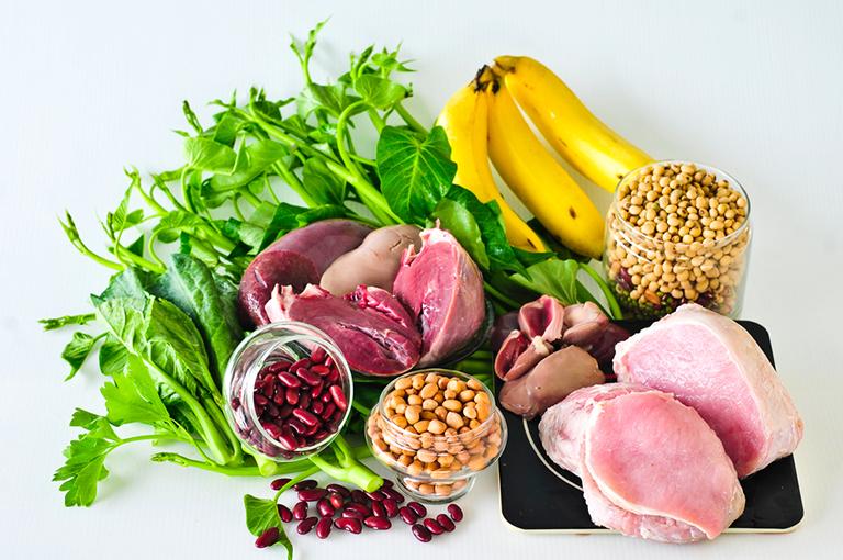 Chế độ ăn uống lành mạnh giúp ngăn ngừa bệnh vôi hóa dây chằng