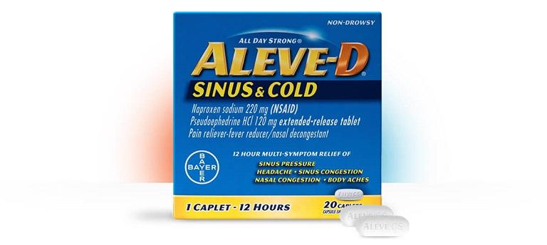 Aleve-D Sinus & Cold
