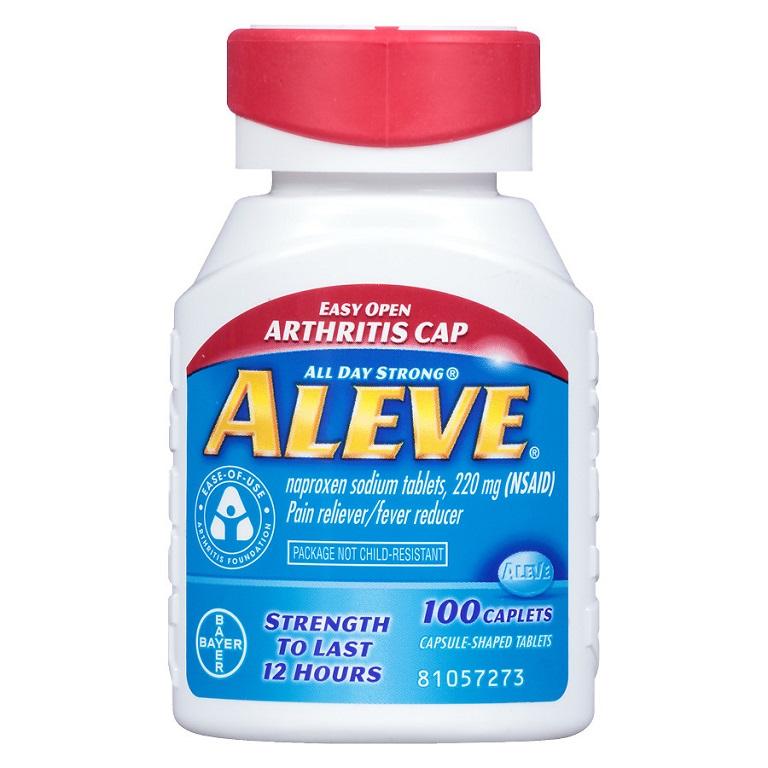 The Aleve Easy Open Arthritis Cap