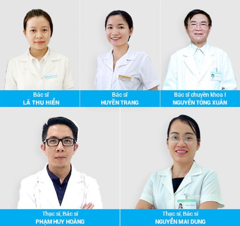 Đội ngũ bác sĩ tạiPhòng khám da liễu Hà Nội