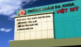 Phòng khám Đa khoa Việt Mỹ tọa lạc tại đường Hoàng Hoa Thám, quận Bình Thạnh, Thành phố Hồ Chí Minh.