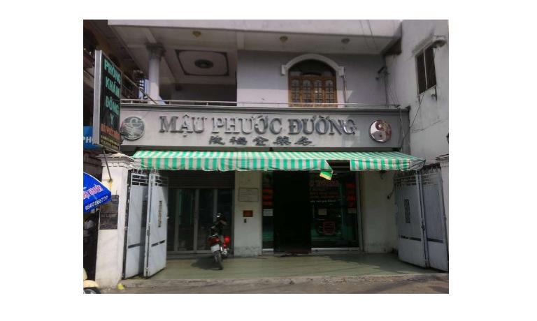 Phòng khám Đông y Mậu Phước Đường tọa lạc tại quận Bình Tân, Thành phố Hồ Chí Minh.