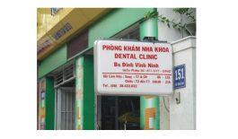 Phòng khám Nha khoa của bác sĩ Đinh Vĩnh Ninh tọa lạc tại quận Phú Nhuận, Thành phố Hồ Chí Minh.