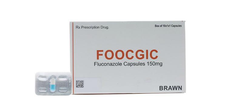 Thuốc Foocgic là thuốc điều trị nấm phụ khoa, nấm ở miệng, thực quản, nấm toàn thân,...