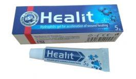 Thuốc Healit điều trị vết thương ngoài da, giúp lành nhanh, giảm đau và hạn chế sẹo.