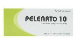 Thuốc Pelearto có công dụng giảm bớt Cholesterol xấu trong máu, cơ thể.